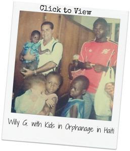 Willy G in Haiti